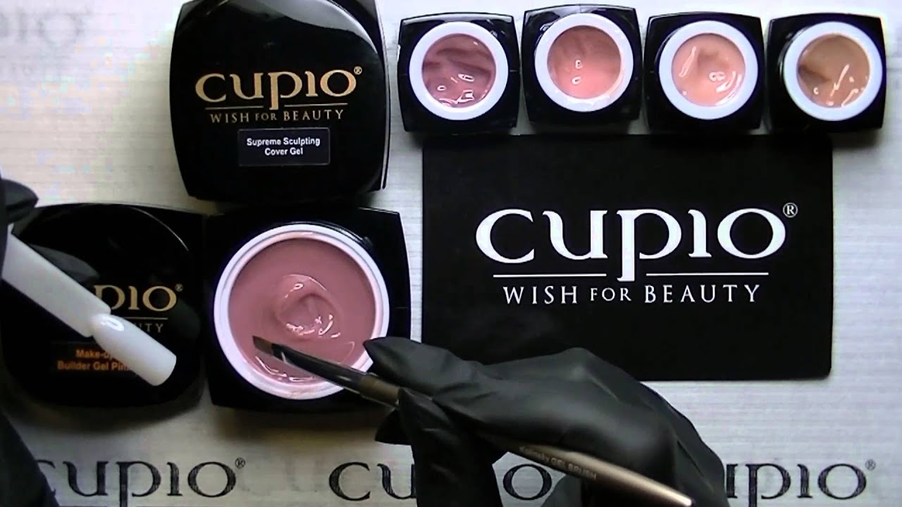 Prezentare Make-up Builder Gel Pink Cupio