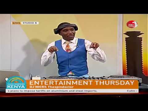 Good Morning Kenya - Hosting DJ Nicks The Spin Doctor
