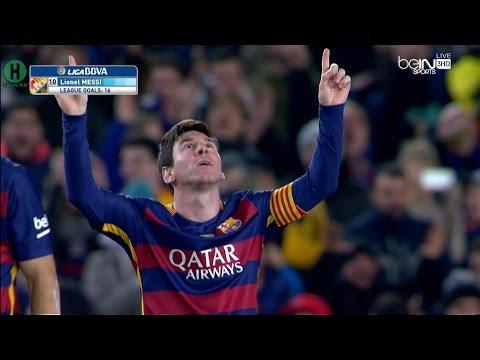 اهداف وملخص برشلونة واشبيلية 2-1 بتعليق علي محمد علي HD 28-2-2016 كامل