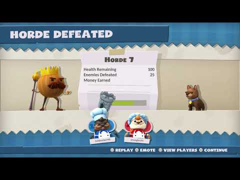 Overcooked! All You Can Eat Night of the Hangry Horde Horde 7 4 Stars |