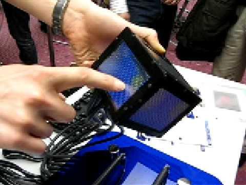 NICTのサイコロ型3Dディスプレイ