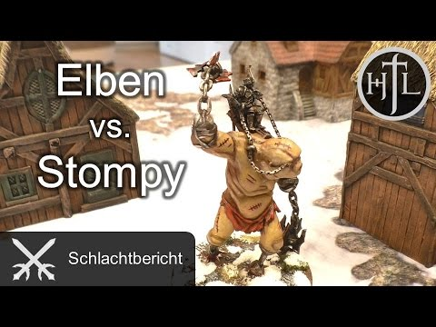 Battlereport - Hochelben vs. Gundabad (Mittelerde Tabletop / Hobbit / Herr der Ringe)