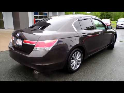 15494a Honda Accord Ex L 4dr Aut Brown 2011 Honda