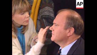 RUSSIA: COMMUNIST LEADER ZYUGANOV FINISHES CAMPAIGN SCHEDULE
