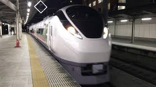【ときわ】E657系 特急 ときわ(東北デスティネーションキャンペーン ラッピング車両)@上野駅