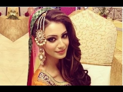 Mehndi Hairstyles For Brides : Mehndi bridal hairstyle youtube