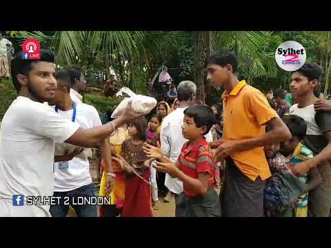 Food Distribution  | Helping The Rohingya Refugees | আনুদান