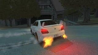 GTA 4 - AMAZING Drifting Gymkhana 4 - Just 4 Fun