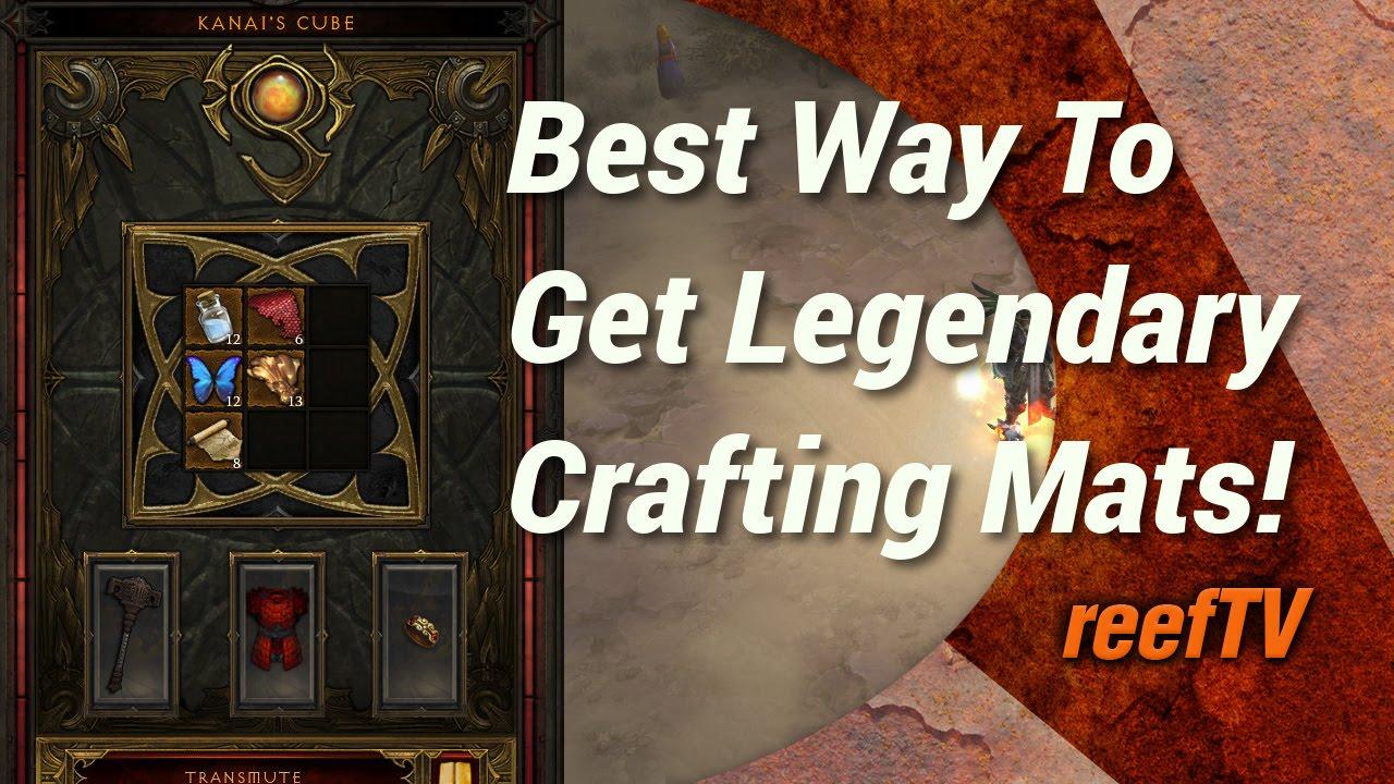 Best legendary crafting material farming method diablo for Diablo 3 crafting items