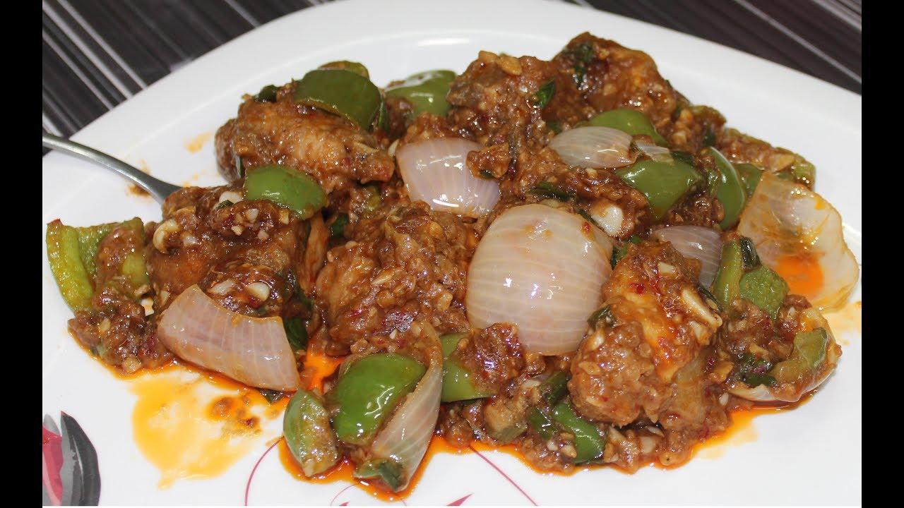 Garlic Chicken New Recipe Eid Special Hindi Youtube
