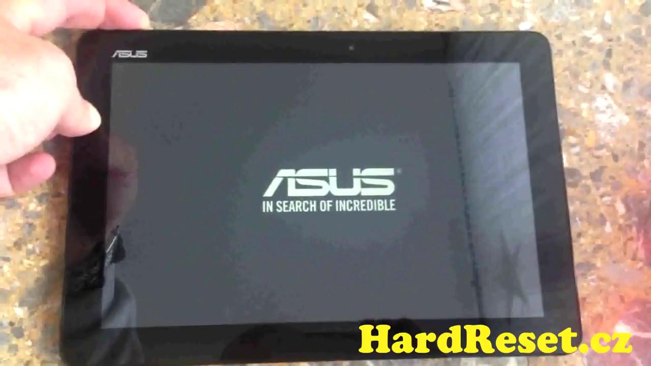 Hard Reset ASUS Memo Pad 10