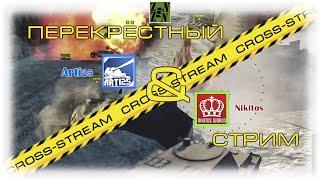 Cross-Stream №1: Nikitos и  Arti25