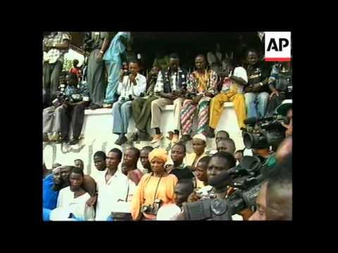 NIGERIA: LAGOS: MOSHOOD ABIOLA BURIED (2)