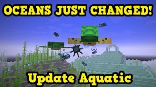 Minecraft 1.3 / 1.13 - SWIMMING & Oceans CHANGED