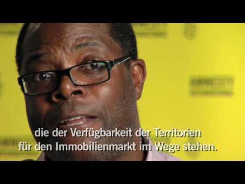 Wohnen. In Würde. - Rechtswidrige Zwangsräumungen in Angola   David Mendes