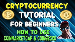 CRYPTOCURRENCY FOR BEGINNERS | How to use COINMARKETCAP and COINGECKO ?