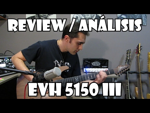 EVH 5150 III Review / análisis | DEMO.