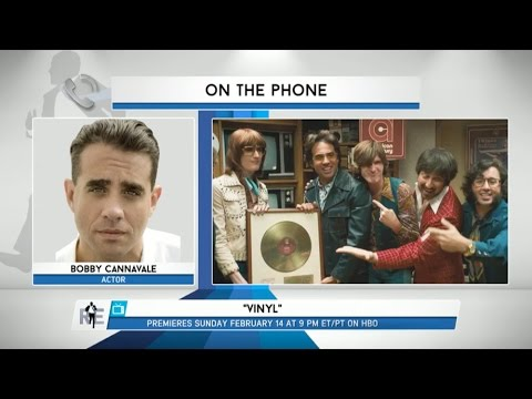 Actor Bobby Cannavale Discusses New HBO Series 'Vinyl' & More - 1/25/16