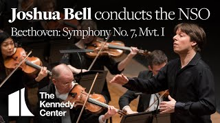 Joshua Bell conducts the NSO for the first time - Beethoven: Symphony No. 7, Mvt. I