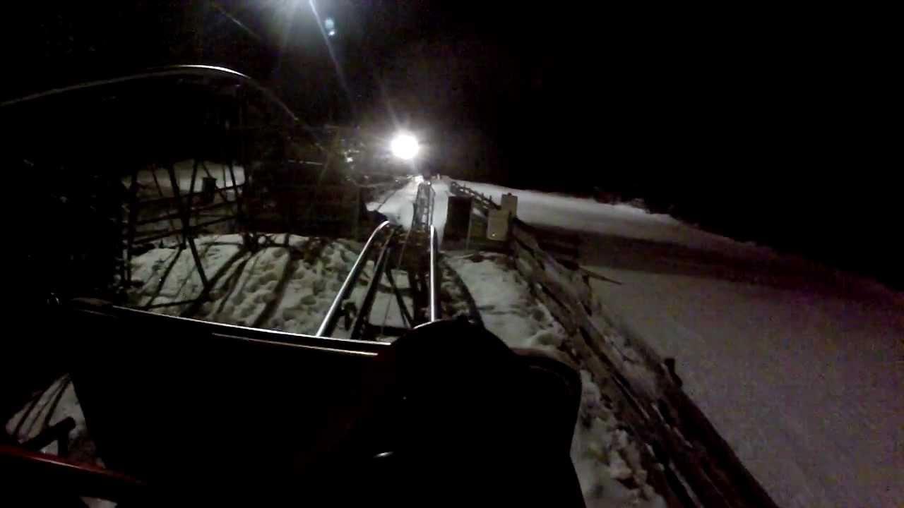 snow world züschen lift en onride slee luge 2012 youtube
