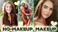 No-Makeup Makeup Tutorial! Brooke Shields | The Blue Lagoon Beach Hair & Makeup