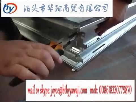 steel door frame roll forming machine, doorframe making machine