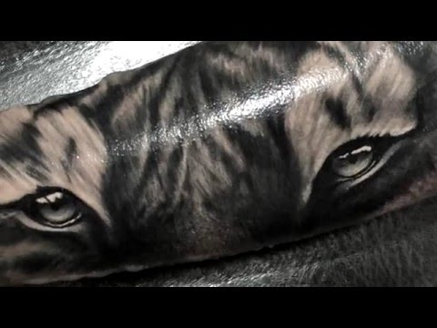 Miguel Rodriguez Tattoo Ojos De Tigre Youtube