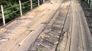 மாஞ்சோலை - Mancholai - Wooden-bridge