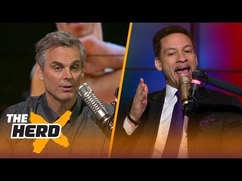 Chris Broussard on Lonzo Ball's passive play, Kyrie's mood in Boston | THE HERD