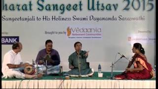 Carnatic Vocal | S.Saketharaman | Bharat Sangeet Utsav 2015 | Coimbatore