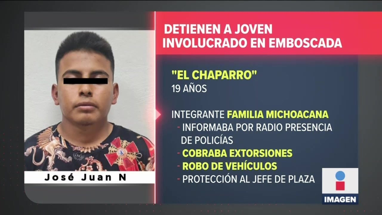"""Download Detienen a """"El Chaparro"""", presunto responsable de emboscada en Coatepec   Noticias Ciro Gómez Leyva"""