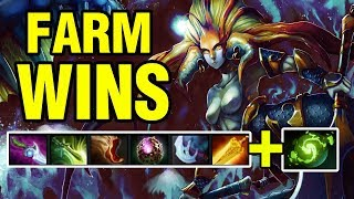 FARM WINS - Draskyl Plays Naga Siren - Dota 2