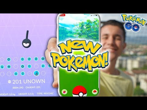 POKÉMON GO RELEASED A NEW POKÉMON AND I CAUGHT IT! (Rarest Pokémon in the WORLD) thumbnail