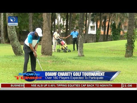 Over 180 Players To Participate In DOAMF Charity Golf Tournament | Sports Tonight |