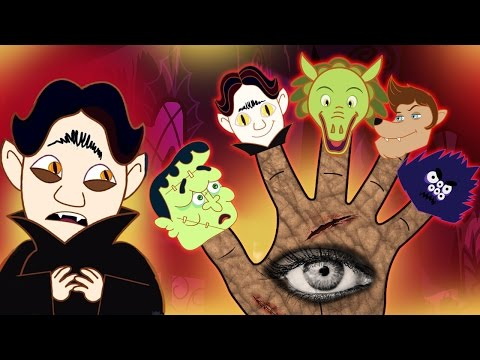Hotel Transylvania Finger Family Part 1 | Scary Nursery Rhymes | HooplaKidz Toons