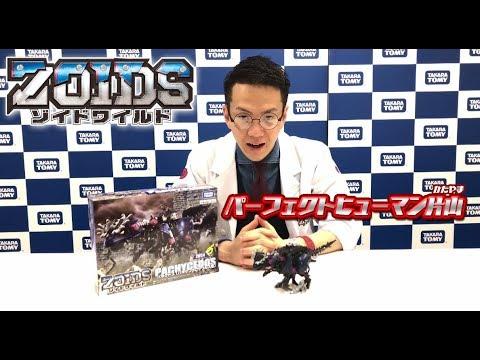 【ゾイドワイルドシリーズ】パーフェクトヒューマン片山が6月発売の新商品パキケドスを紹介!