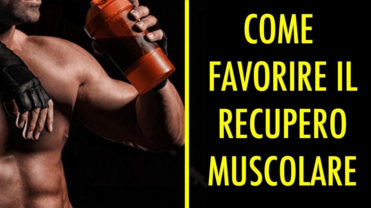 Come ridurre l'indolenzimento muscolare e i tempi di recupero?