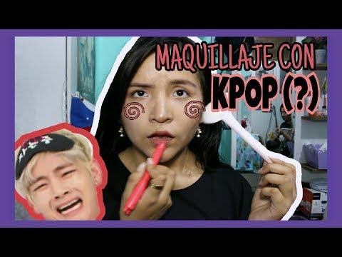Cantando mi rutina de maquillaje con KPOP (BTS-GOT7-TWICE) || Akira Lau