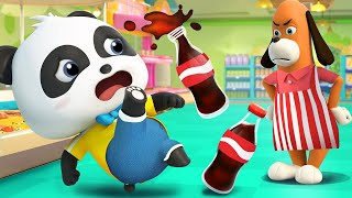 Panda Kiki Got A Free Cola Coupon | Kids Cartoon | Panda Cartoon | for kids  | BabyBus