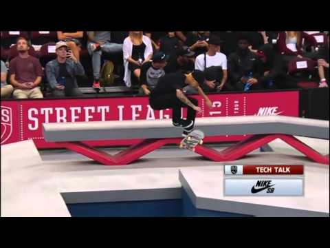 Luan Oliveira vs Nyjah Huston vs Kelvin Hoefler Street League 2015 - New Jersey