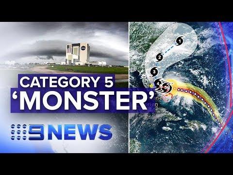 First reported death as Hurricane Dorian hits Bahamas   Nine News Australia