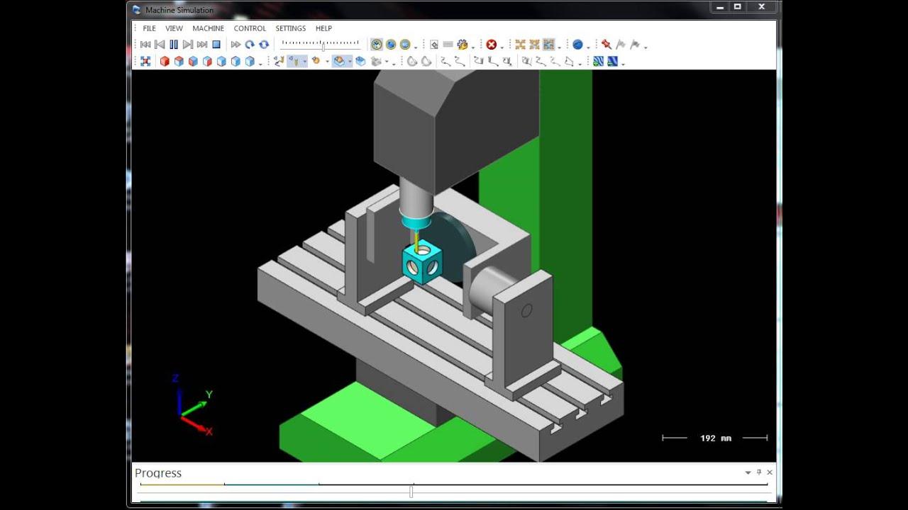 Mastercam Mach3 Simulation