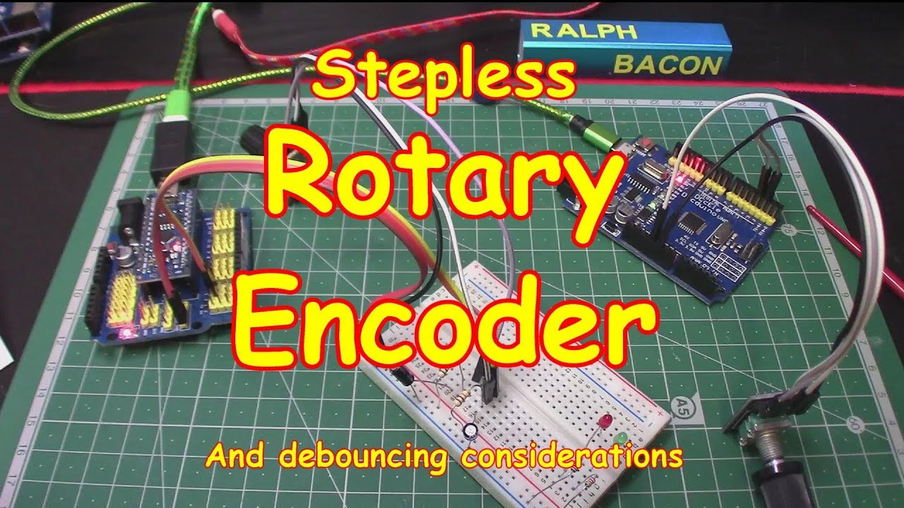 #96 Rotary Encoder Update - Stepless & Software Debounced