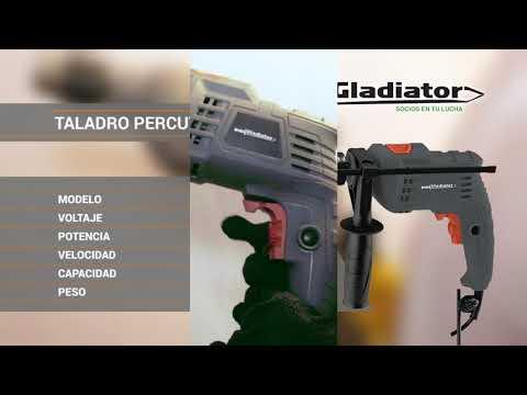 GLADIATOR TALADRO PERCUTOR 13mm 650w