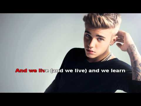 Down To Earth Lyric -  Justin Bieber
