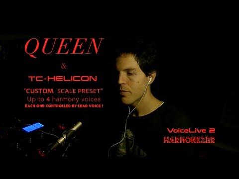 Queen & Harmonizer - VoiceLive 2 - Tc Helicon