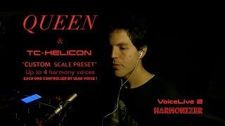 Queen & Harmonizer - VoiceLive 2 - Tc Helicon