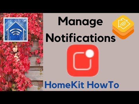 HomeKit HowTo: Manage Notifications