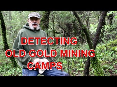 Detecting Old Gold Mining Camps