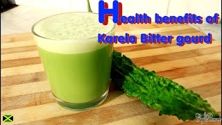 Gourd Karela Smoothie Green Juice lose weight fast , within three days time